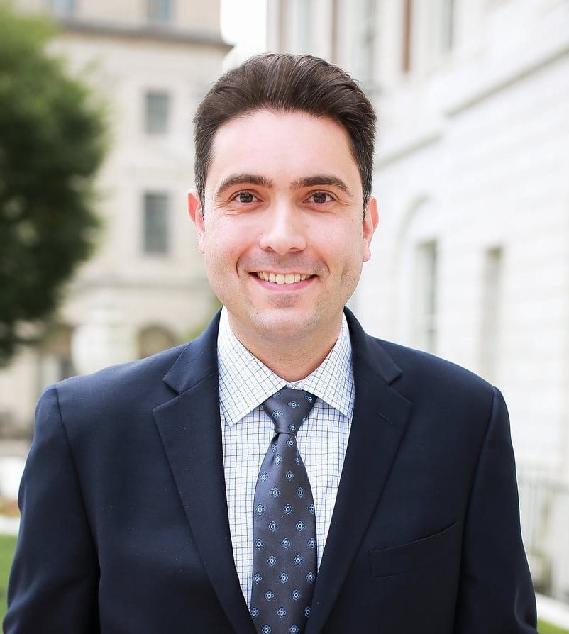 Vincent Farisello professional attorney profile picture. Practicing in corporate & business, labor & employment, municipal & government, and education law.